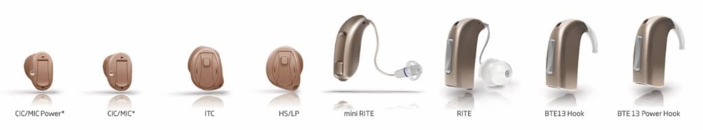 Hearing Aid Styles 1